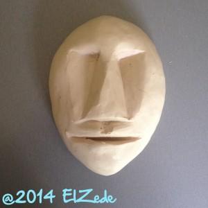 Matrice des masques doux modelée en plastiline