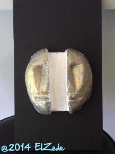 Masques décalés 03 - Peinture en cours